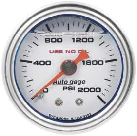Autogage® Mechanical Nitrous Oxide Pressure Gauge