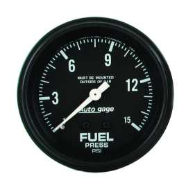 Autogage® Mechanical Fuel Pressure Gauge
