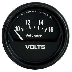 Autogage® Electric Voltmeter Gauge