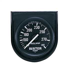 Autogage® Water Temperature Gauge Panel