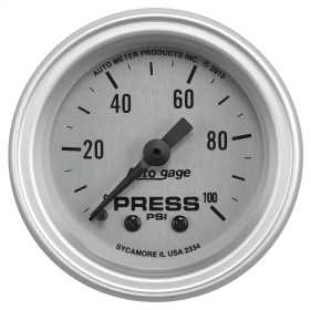 Autogage® Mechanical Oil Pressure Gauge