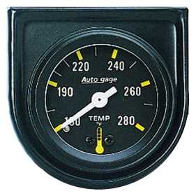 Autogage® Mechanical Water Temperature Gauge