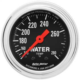 Traditional Chrome™ Mechanical Water Temperature Gauge
