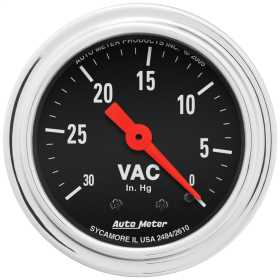 Traditional Chrome™ Mechanical Vacuum Gauge