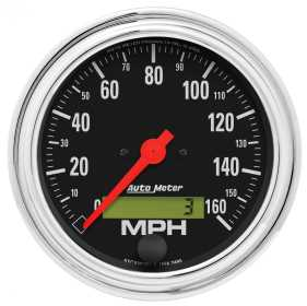 Traditional Chrome™ Electric Programmable Speedometer