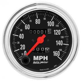 Traditional Chrome™ Mechanical Speedometer 2494