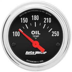 Traditional Chrome™ Electric Oil Temperature Gauge