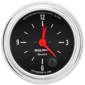 Traditional Chrome™ Clock