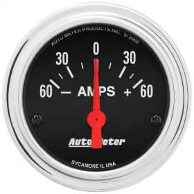 Traditional Chrome™ Electric Ampmeter Gauge