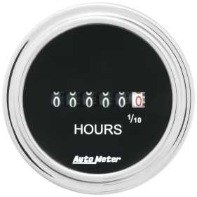 Traditional Chrome™ Electric Hourmeter Gauge