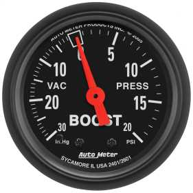 Z-Series™ Mechanical Boost/Vacuum Gauge
