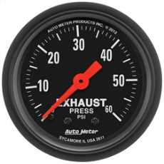 Exhaust Pressure Gauge