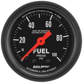 Z-Series™ Mechanical Fuel Pressure Gauge 2612