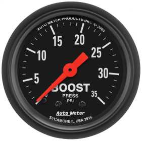 Z-Series™ Mechanical Boost Gauge