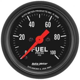 Z-Series™ Electric Fuel Pressure Gauge 2663