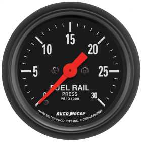 Z-Series™ Fuel Rail Pressure Gauge