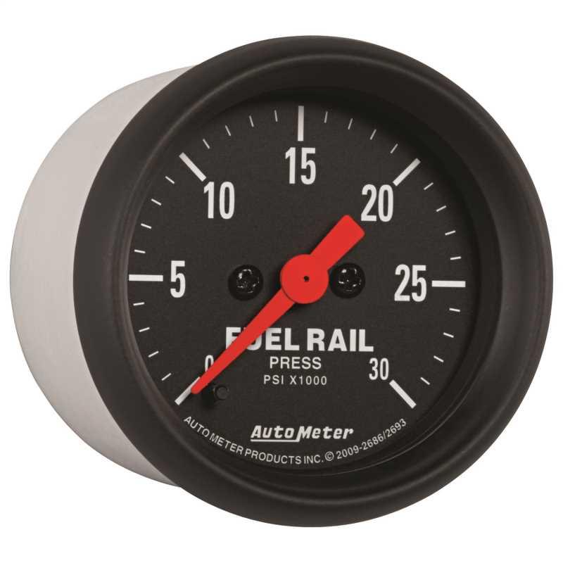 Z-Series™ Fuel Rail Pressure Gauge 2686
