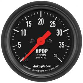 Z-Series™ High Pressure Oil Pump Gauge