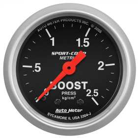 Sport-Comp™ Mechanical Metric Boost Gauge