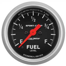 Sport-Comp™ Electric Fuel Level Gauge