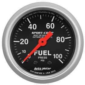 Sport-Comp™ Mechanical Fuel Pressure Gauge 3312
