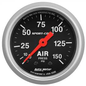 Sport-Comp™ Mechanical Air Pressure Gauge