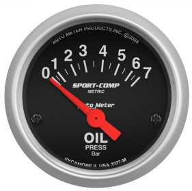 Sport-Comp™ Electric Metric Oil Pressure Gauge