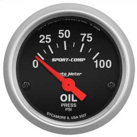 Sport-Comp™ Electric Oil Pressure Gauge