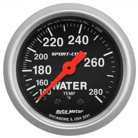 Sport-Comp™ Mechanical Water Temperature Gauge
