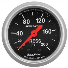 Sport-Comp™ Mechanical Pressure Gauge