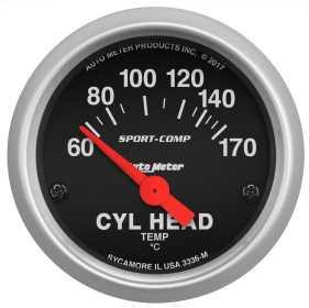 Sport-Comp™ Electric Cylinder Head Temperature Gauge