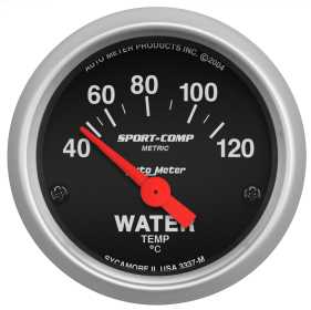 Sport-Comp™ Electric Water Temperature Gauge