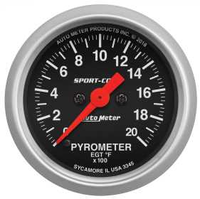 Sport-Comp™ Digital Pyrometer Gauge