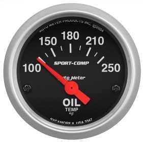 Sport-Comp™ Electric Oil Temperature Gauge