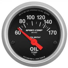 Sport-Comp™ Electric Oil Temperature Gauge 3348-M