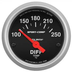 Sport-Comp™ Electric Differential Temperature Gauge