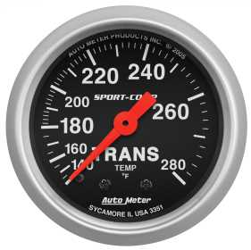 Sport-Comp™ Mechanical Transmission Temperature Gauge