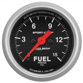 Sport-Comp™ Electric Fuel Pressure Gauge