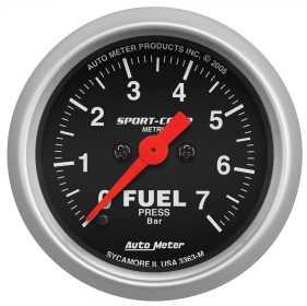 Sport-Comp™ Electric Fuel Pressure Gauge 3363-M