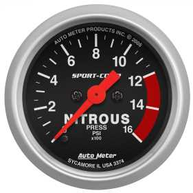 Sport-Comp™ Electric Nitrous Pressure Gauge
