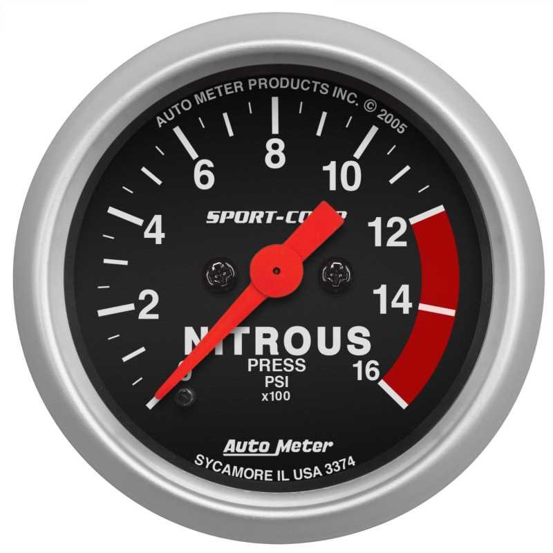 Sport-Comp™ Electric Nitrous Pressure Gauge 3374