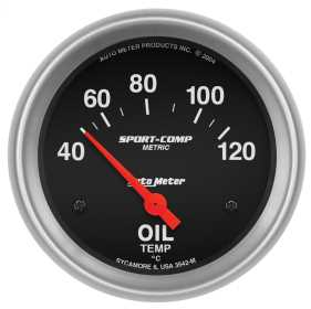 Sport-Comp™ Electric Metric Oil Temperature Gauge