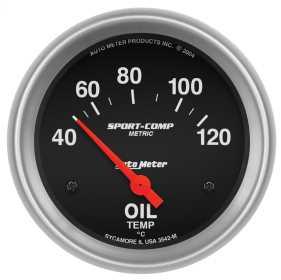 Sport-Comp™ Electric Metric Oil Temperature Gauge