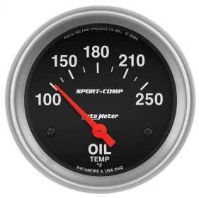 Sport-Comp™ Electric Oil Temperature Gauge 3542