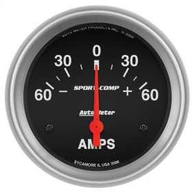 Sport-Comp™ Electric Ampmeter Gauge