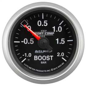 Sport-Comp II™ Mechanical Boost/Vacuum Gauge