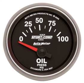 Sport-Comp II™ Electric Oil Pressure Gauge