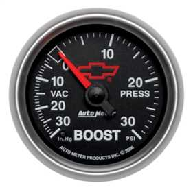 GM Series Electric Boost/Vacuum Gauge