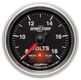 Sport-Comp II™ Electric Voltmeter Gauge