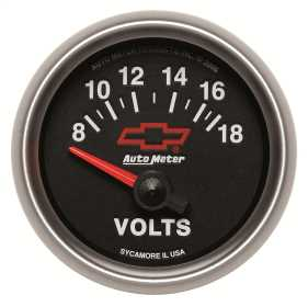 GM Series Electric Voltmeter Gauge
